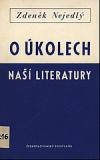 O úkolech naší literatury