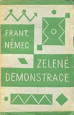 Zelené demonstrace obálka knihy