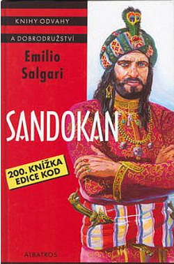 Sandokan obálka knihy