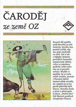 Čaroděj ze země Oz obálka knihy