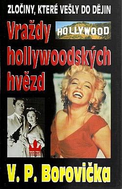 Vraždy hollywoodských hvězd obálka knihy