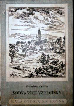 Vodňanské vzpomínky obálka knihy