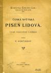 Česká světská píseň lidová