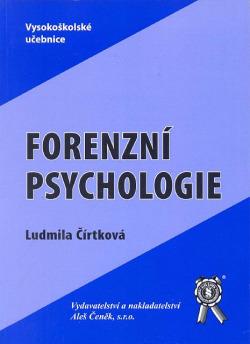 Forenzní psychologie obálka knihy