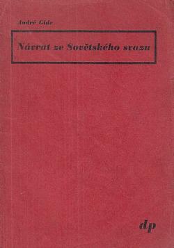Návrat ze Sovětského svazu obálka knihy