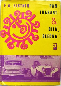 Pan trabant a bílá slečna obálka knihy