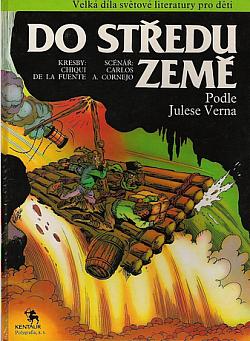Do středu Země (komiks) obálka knihy