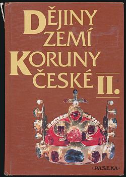 Dějiny zemí Koruny české II. obálka knihy