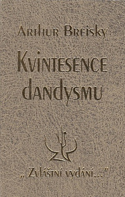 Kvintesence dandysmu obálka knihy