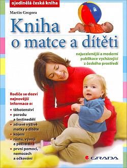 Kniha o matce a dítěti obálka knihy