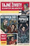 Tajné životy slavných skladatelů obálka knihy