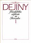 Dejiny filozofického myslenia na Slovensku I.