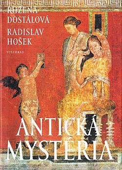 Antická mystéria obálka knihy
