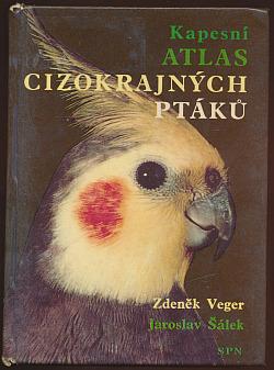 Kapesní atlas cizokrajných ptáků obálka knihy