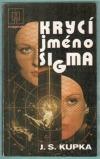 Krycí jméno Sigma obálka knihy