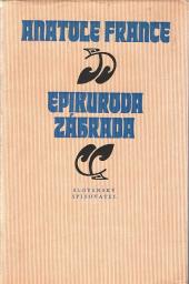 Epikurova záhrada obálka knihy