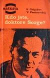 Kdo jste, doktore Sorge? obálka knihy
