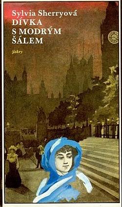 Dívka s modrým šálem obálka knihy