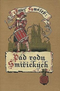 Pád rodu Smiřických obálka knihy