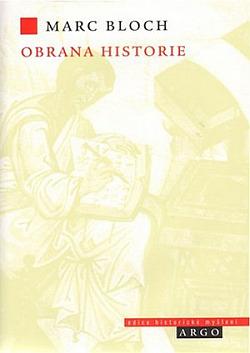Obrana historie aneb Historik a jeho řemeslo obálka knihy