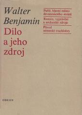 Dílo a jeho zdroj obálka knihy