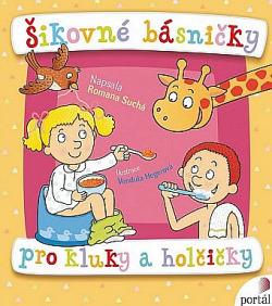 Šikovné básničky pro kluky a holčičky obálka knihy
