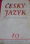 Český jazyk pro desátý postupný ročník