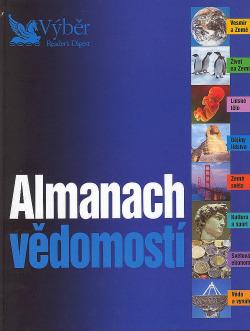 Almanach vědomostí obálka knihy