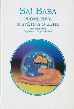 Saí Baba promlouvá o světu a o Bohu obálka knihy