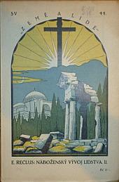 Náboženský vývoj lidstva II. obálka knihy