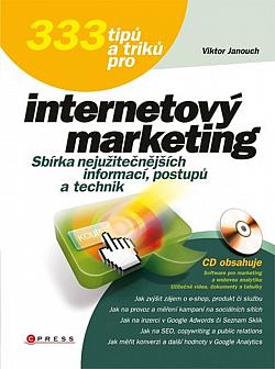333 tipů a triků pro internetový marketing obálka knihy