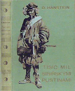 Tisíc mil Sibiřskými pustinami obálka knihy