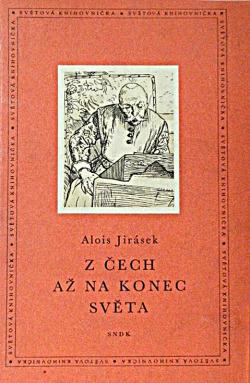 Z Čech až na konec světa obálka knihy