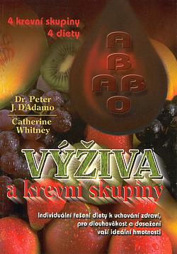 Výživa a krevní skupiny obálka knihy