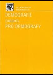 Demografie (nejen) pro demografy obálka knihy