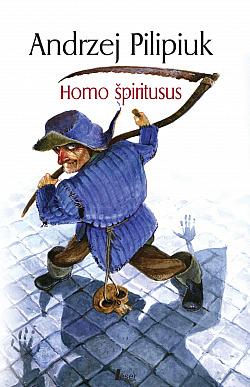 Homo špiritusus obálka knihy