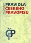 Pravidla českého pravopisu obálka knihy