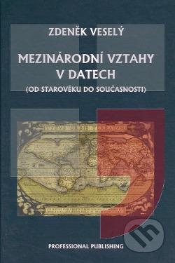 Mezinárodní vztahy v datech obálka knihy