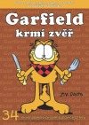 Garfield krmí zvěř obálka knihy