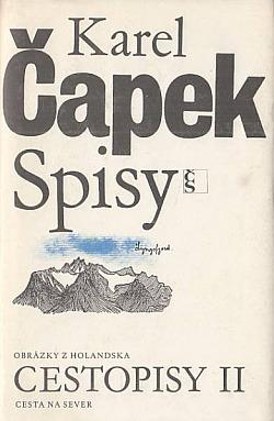 Cestopisy II. obálka knihy