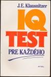 IQ test pre každého