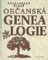 Občanská genealogie obálka knihy