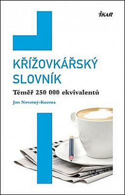 Křížovkářský slovník obálka knihy