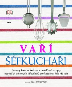 Vaří šéfkuchaři obálka knihy