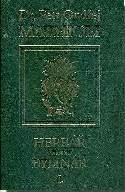 Herbář neboli Bylinář I. obálka knihy