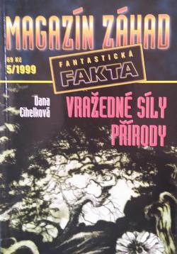 Magazín záhad - Fantastická fakta 5/1999 obálka knihy