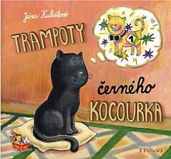 Trampoty černého kocourka obálka knihy