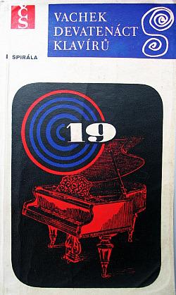 Devatenáct klavírů obálka knihy