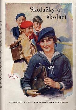 Školačky a školáci obálka knihy