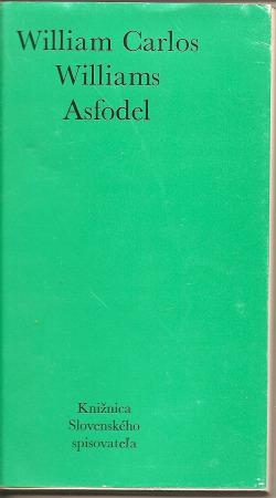 Asfodel obálka knihy